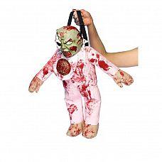 Рюкзак  Малыш Зомби   Прекрасный аксессуар для вечеринок в стиле  Хэллоуин  - рюкзак в виде ужасного маленького зомби.