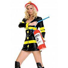 Надувной огнетушитель  Любите ролевые игры? Предлагаем сценарий: восхитительная девушка-пожарник спасает красивого мужчину из пылающего дома.