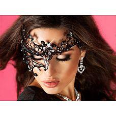Витиеватая маска  Невероятный и дизайнерский аксессуар призван разбудить страсть, разжечь самые яркие эротические фантазии и пробудить ото сна утихшие желания! Маска выполнена в стилистике барокко и напоминает какие-то ожившие образы из французских сказок.