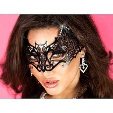 Роскошная маска - летучая мышь  Почувствуйте себя королевой ночи, откройте неизведанные черты своего характера.