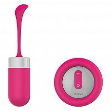 Розовое виброяйцо с пультом управления Chorus  Виброяйцо с пультом дистанционного управления имеет 7 режимов вибрации.