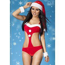 Эротическое новогоднее боди  Соблазнительный костюмчик, который поможет вам создать необычный новогодний образ для своего любимого.