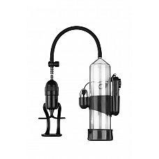 Вакуумная помпа Discovery Diver - 24,5 см.  С вакуумной помпой Diver от Lola Toys эрекция будет тверже и продолжительнее.