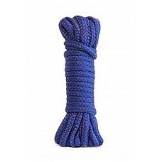 Синяя веревка Bondage Collection Blue  Синяя веревка для связывания партнера.