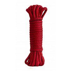 Красная веревка Bondage Collection Red, 9м  Красная веревка для связывания партнера.