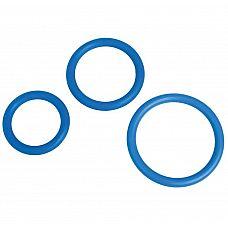 Набор из 3 синих эрекционных колец MENZSTUFF COMPLETE SET OF COCKRINGS  Набор из 3 синих эрекционных колец MENZSTUFF COMPLETE SET OF COCKRINGS.