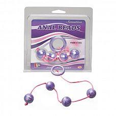 Фиолетовые анальные шарики GOOD VIBES ANAL BEADS MEDIUM  Фиолетовые анальные шарики GOOD VIBES ANAL BEADS MEDIUM.
