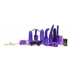 Фиолетовый вибронабор SEX TOY KIT LAVENDER  Фиолетовый вибронабор SEX TOY KIT LAVENDER.