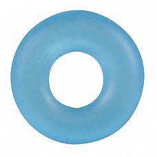 Голубое эрекционное кольцо Stretchy Cockring   Очень эластичный материал обеспечивает максимальную эффективность и комфорт во время использования.
