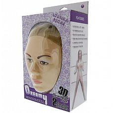 Надувная секс-кукла с реалистичным личиком LOUSINA STONE DOLL  Надувная секс-кукла с реалистичным личиком LOUSINA STONE DOLL.
