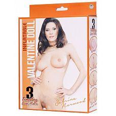 Надувная секс-кукла в чулочках SABRINA NORWOOD  Надувная секс-кукла в чулочках SABRINA NORWOOD. 3 любовных отверстия.