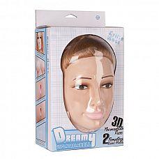 Надувная секс-кукла с 3D-личиком KYLILA HESS  Надувная секс-кукла с 3D-личиком KYLILA HESS. 2 любовных отверстия.