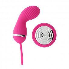 Розовый вибростимулятор с дистанционным управлением LUCY PINK  Розовый вибростимулятор с дистанционным управлением LUCY PINK.