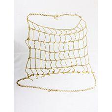 Цепочка на тело Belly Body Chain  Хотите украсить обычное платье чем-то необычным? Наденьте эту цепочку и превратитесь в неотразимую особу! Золотистая цепочка создаст привлекательный образ для любой девушки.
