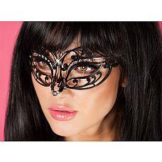 Эротическая кружевная маска  Роскошный аксессуар для эротических игр, который наполнит ваш образ таинственностью и неповторимостью.