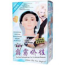 Любовная кукла с 3D-личиком и вибрацией  Любовная кукла с 3D-личиком и вибрацией.