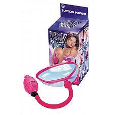 Прозрачная помпа с грушей для клитора и половых губ  Прозрачная помпа с грушей для клитора и половых губ.