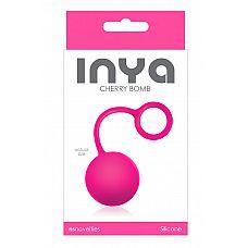 Розовый вагинальный шарик INYA Cherry Bomb Pink  Вагинальный шарик INYA Cherry Bomb Pink .