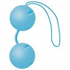 Голубые матовые вагинальные шарики Joyballs    Голубые матовые вагинальные шарики Joyballs.