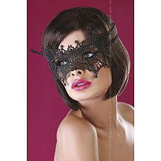 Ажурная маска в форме бабочки  Ажурная маска в форме бабочки выполнена в стиле соблазнительного итальянского кружева.