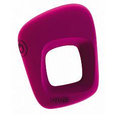 Розовое эрекционное вибрирующее кольцо Senca   Перезаряжаемое мощное кольцо-стимулятор, 10 интенсивных режимов, Имеет яркий дизайн, необычную форму.