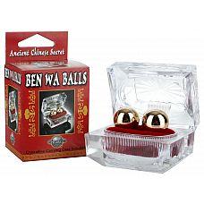 Шарики вагинальные   Ben Wa Balls  Древняя китайская легенда гласит, что женщины впервые использовали эти вагинальные шарики  Ben Wa Balls  ,часами мягко качая их  назад и вперед.