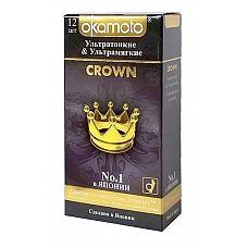 Презервативы OKAMOTO Crown No12