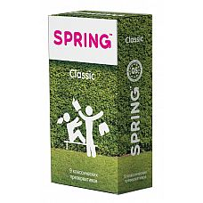 Классические презервативы SPRING CLASSIC - 9 шт.  Классические презервативы SPRING CLASSIC.