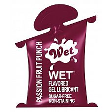 Лубрикант Wet Fun Flavors Passionate Fruit Punch подушечка 10mL 20481wet