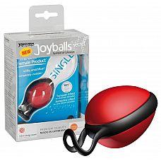 Красный вагинальный шарик со смещенным центром тяжести Joyballs Secret  Красный вагинальный шарик со смещенным центром тяжести Joyballs Secret.