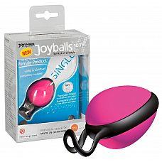 Розовый вагинальный шарик со смещенным центром тяжести Joyballs Secret  Розовый вагинальный шарик со смещенным центром тяжести Joyballs Secret.