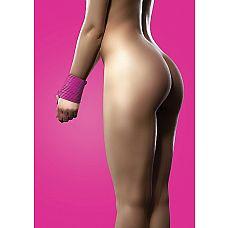 """Силиконовая лента для бандажа розовая OUCH SH-OU093PNK  """"Секс-изделие откроет перед Вами бесконечные сексуальные возможности."""