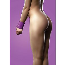 """Силиконовая лента для бандажа фиолетовая OUCH SH-OU093PUR  """"Секс-изделие откроет перед Вами бесконечные сексуальные возможности."""