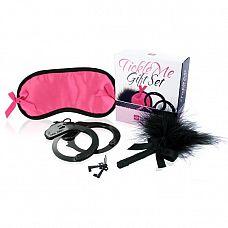 Любовный набор LoversPremium Tickle Me Gift Set  Пробудите чувственность, обострите ощущения и раскрепостите своего партнера с помощью любовного набора LoversPremium Tickle Me Gift Set.