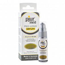 Концентрированная пролонгирующая сыворотка pjur^MED Pro-long Serum - 20 мл.  Сыворотка с сильным пролонгирующим эффектом.