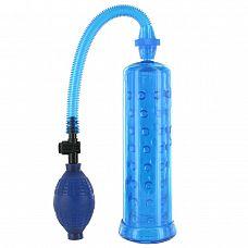 Голубая вакуумная помпа XLsucker Penis Pump  Вакуумная помпа для улучшения эрекции и увеличения полового члена.