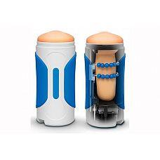 Мастурбатор AUTOBLOW 2 MASTURBATOR   SLEEVE C  Инновационная игрушка для мужчин, которая позволит полностью освободить руки во время мастурбации! Masturbator   Sleeve C представлен цилиндром с мягкой вставкой, которая имитирует ротик.