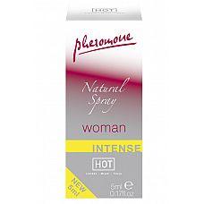 Natural Spray Intense женские духи с феромонами 5мл  Особенно сильный.