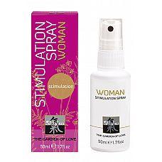 Stimulation Spray woman спрей стимулирующий для женщин 50мл  Спрей «SHiATSU Geisha's Dream» — эликсир особенного эротического наслаждения.