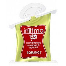 Масло для массажа Inttimo Romance с ароматом кедра и пачули - 10 мл.  Высококлассное массажное масло, также подходит для ароматерапии и ванн, Romance   соблазнительное сочетание кедра и пачули.