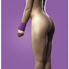 Фиолетовая силиконовая лента для бандажа - 5 м.  Секс-изделие откроет перед Вами бесконечные сексуальные возможности.