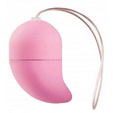 Розовое виброяйцо G-spot Egg Small  Это беспроводное g-spot виброяйцо имеет 10 различных режимов, устанавливаемых с помощью пульта дистанционного управления.