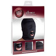 Шлем-маска из нейлона с кляпом-шариком Kopfmaske Knebel  Шлем-маска из нейлона с силиконовым кляпом-шариком Kopfmaske Knebel.