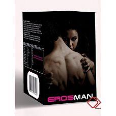 """Мужские капсулы ErosMan 30 шт  """"Препарат для мужчин в качестве источника арбутина, кофеина, ликопина, бета-фитостерина, дополнительного источника железа, содержащей медь, йод, селен, цинк."""