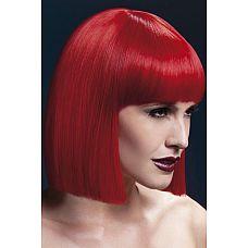 Красный парик Lola  Для создания властного и страстного образа прекрасно подойдет парик Лола.