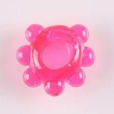 """Колечко Цветок 47211-MM  """"Эрекционное кольцо с пупырышками для дополнительной стимуляции."""