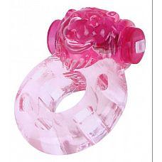 Виброкольцо Медвежонок 47216-MM