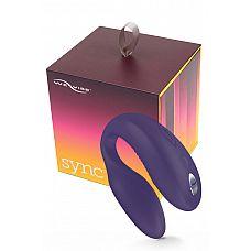 Электровибромассажер We-Vibe Sync  Purple-Фиолетовый, на радиоуправлении  Одинаковых организмов не бывает.