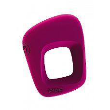 Вибрирующее кольцо Senca, Розовый  Перезаряжаемое мощное кольцо-стимулятор, 10 интенсивных режимов, Имеет яркий дизайн, необычную форму.