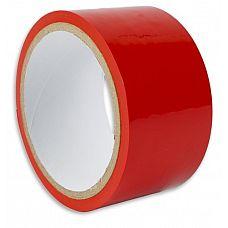 Красная липкая лента для фиксации  Самый просто способ привязать своего партнера   использовать липкую ленту.